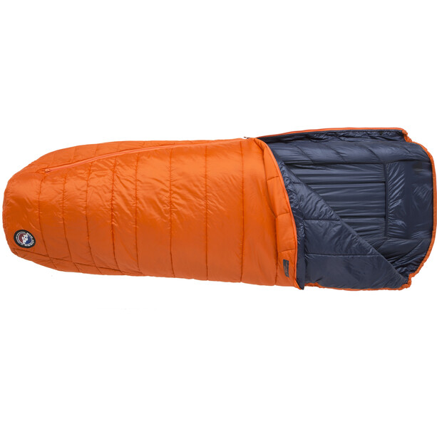 Big Agnes Lost Dog 45 Schlafsack Regular orange/navy