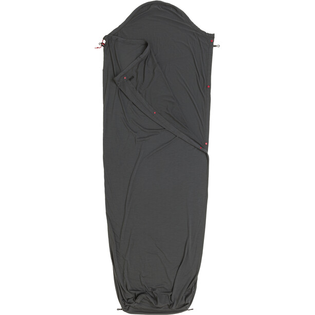 Big Agnes Innenschlafsack Wolle gray