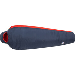 Big Agnes Husted 20 Schlafsack Long navy/red navy/red