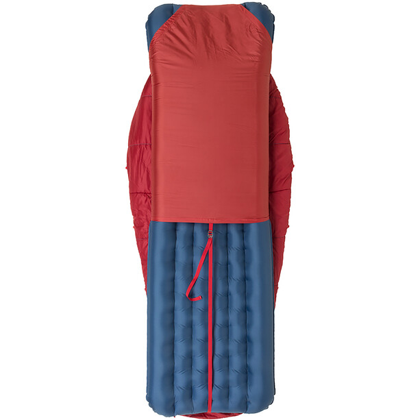 Big Agnes Duster 15 Sleeping Bag Youth, red