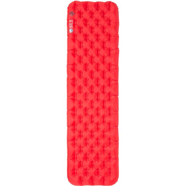 Big Agnes Insulated AXL Air Sleeping Pad Petite 51x168cm röd