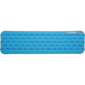 Big Agnes Insulated Q-Core Deluxe Schlafmatte Long 51x198cm turquoise turquoise