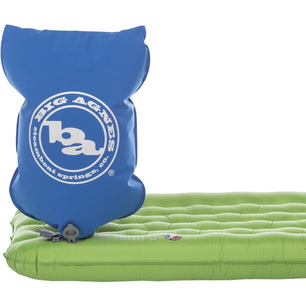Big Agnes Insulated Q Core SLX Schlafmatte Wide Regular 64x183cm green
