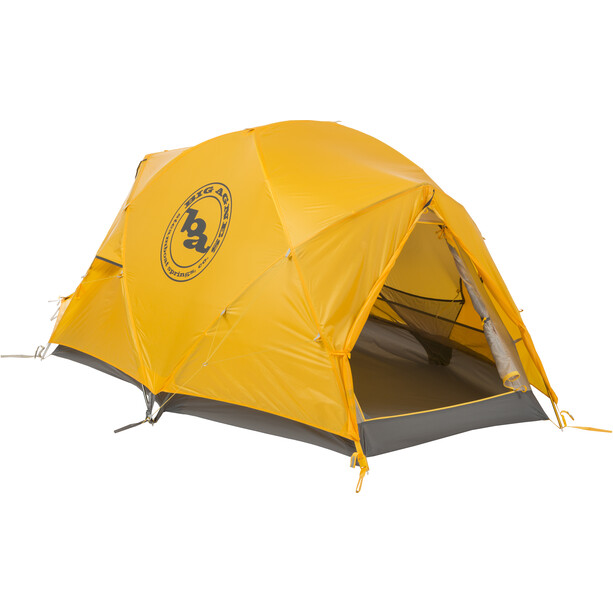 Big Agnes Battle Mountain 2 Zelt gelb/grau