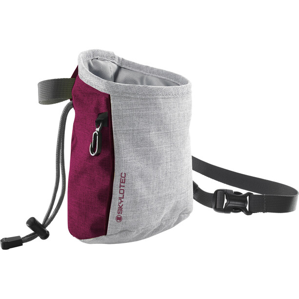 Skylotec Slate 2.0 Chalk Bag grey/berry