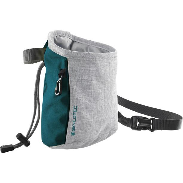 Skylotec Slate 2.0 Chalk Bag grau/petrol