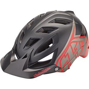 Troy Lee Designs A1 MIPS Helm schwarz/rot schwarz/rot