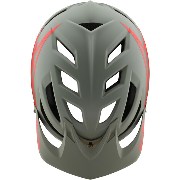 Troy Lee Designs A1 MIPS Classic Helmet Youth orange/grey