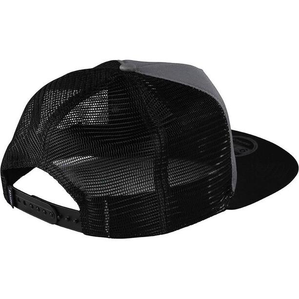 Troy Lee Designs Blockworks Snapback Cap grau/schwarz