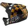 Troy Lee Designs D3 Fiberlite Helm raceshop black/gold