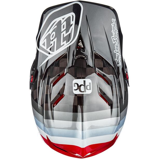 Troy Lee Designs D4 Carbon MIPS Helm sram black/red