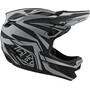 Troy Lee Designs D4 Composite MIPS Mirage Helm black/silver