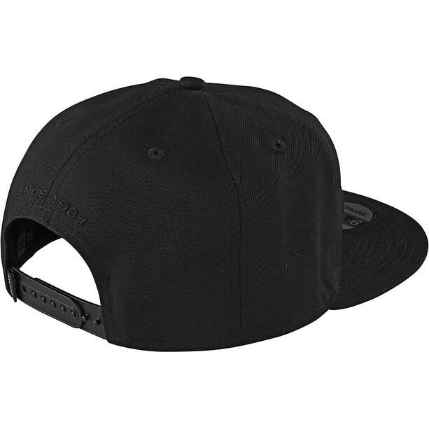 Troy Lee Designs Signature Snapback Cap black