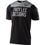 Troy Lee Designs Skyline Kurzarm Trikot block black/grey