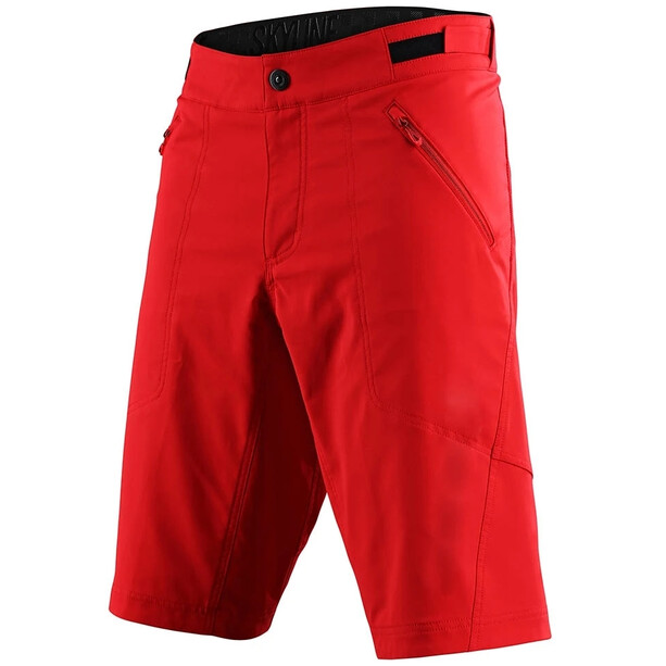 Troy Lee Designs Skyline Shell Shorts red