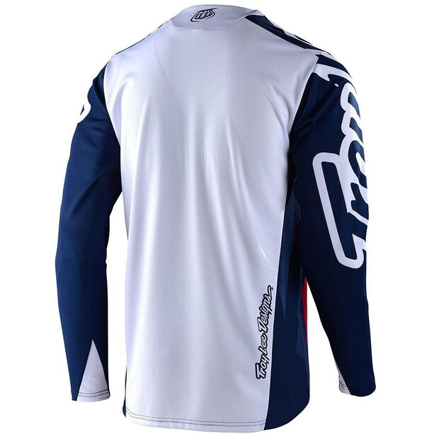 Troy Lee Designs Sprint Factory Langarm Trikot navy/red