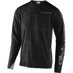 Troy Lee Designs Sprint Ultra Langarm Trikot podium black/silver podium black/silver