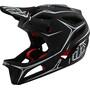 Troy Lee Designs Stage MIPS Helm pinstripe black/white