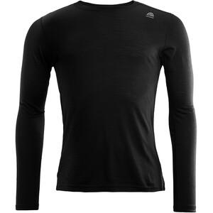 Aclima LightWool Crew Neck Shirt Men jet black jet black