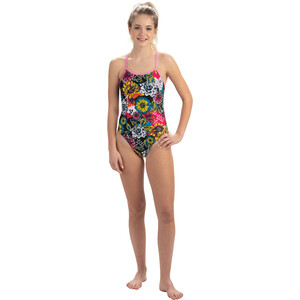 Dolfin String Back One Piece Badeanzug Damen sugar skull sugar skull