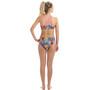 Dolfin Print Workout Bikini Damen hyper tropic