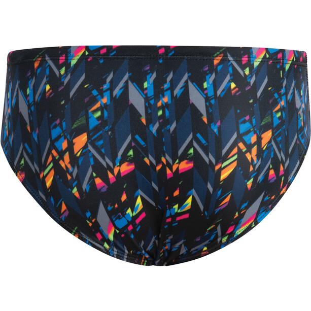 Dolfin Print Slip de bain Homme, Multicolore