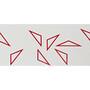 Supacaz Super Sticky Kush Star Fade Lenkerband white/red