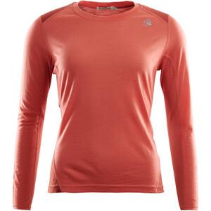 Aclima LightWool Sports Shirt Women, punainen punainen