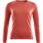 Aclima LightWool Sports Shirt Women, punainen
