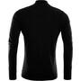 Aclima LightWool Zip Shirt Herren jet black