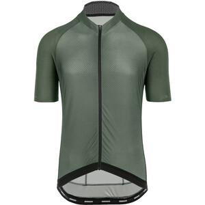 Bioracer Sprinter Kurzarm Trikot Cold Black Light Herren grün grün