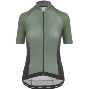 Bioracer Sprinter Kurzarm Trikot Cold Black Light Damen grün grün