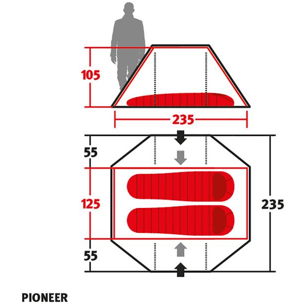 Wechsel Pioneer Zelt