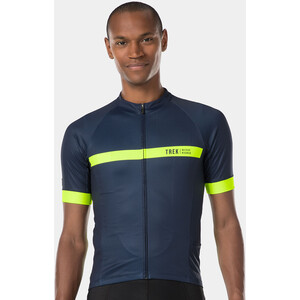 Bontrager Circuit LTD Kurzarm Trikot Herren deep dark blue/radioactive yellow deep dark blue/radioactive yellow