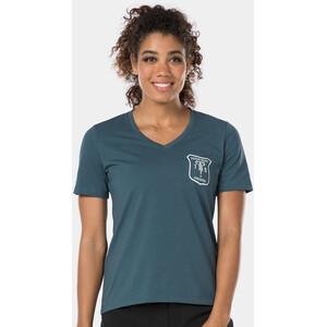 Bontrager Evoke Tech T-Shirt Damen battleship blue battleship blue