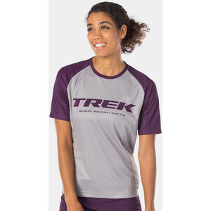 Bontrager Rhythm Tech T-Shirt Damen gravel/mulberry gravel/mulberry