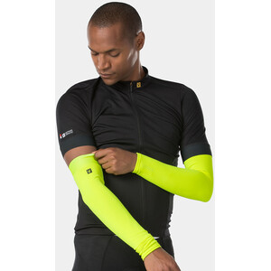 Bontrager Thermal Arm Warmers Men gul gul
