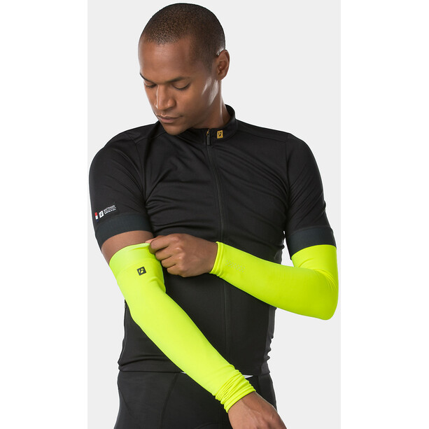 Bontrager Thermal Chauffe-bras Homme, radioactive yellow