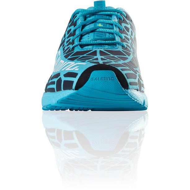 Salming Speed 8 Chaussures Femme, bleu/noir