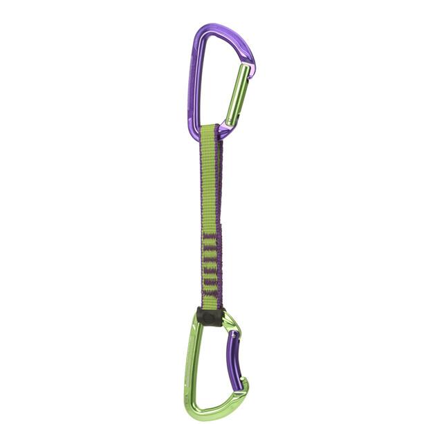 Wild Country Session Expressschlinge 17cm grün/lila