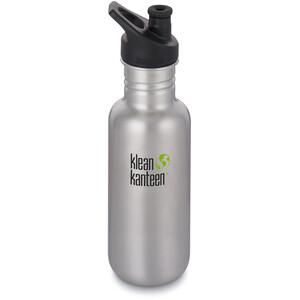 Klean Kanteen Classic Bottle Sport Cap 532ml silver silver