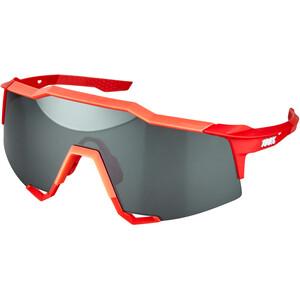 100% Speedcraft Brille Tall grau/rot grau/rot