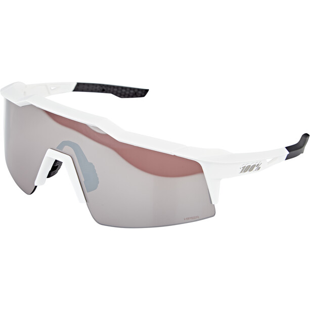 100% Speedcraft Glasses Small vit/grå