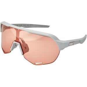 100% S2 Cykelbriller, hvid/rød hvid/rød