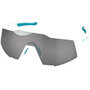 100% Speedcraft BORA-hansgrohe Special Edition Glasses team white/hiper silver mirror
