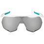 100% S2 Bora Hansgrohe Special Edition Brille team white/hiper mirror
