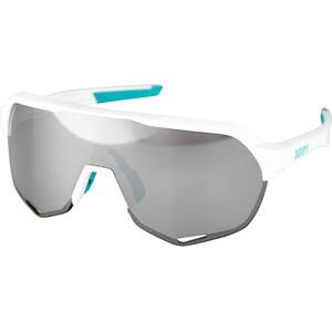 100% S2 Bora Hansgrohe Special Edition Gafas, blanco/Turquesa blanco/Turquesa
