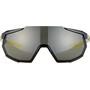 100% Racetrap Brille, sort/grå