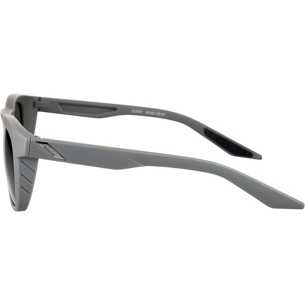 100% Slent Brille soft tact cool grey/smoke