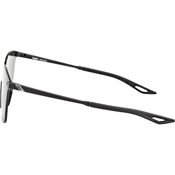 100% Legere UltraCarbon Square Brille matte black/smoke